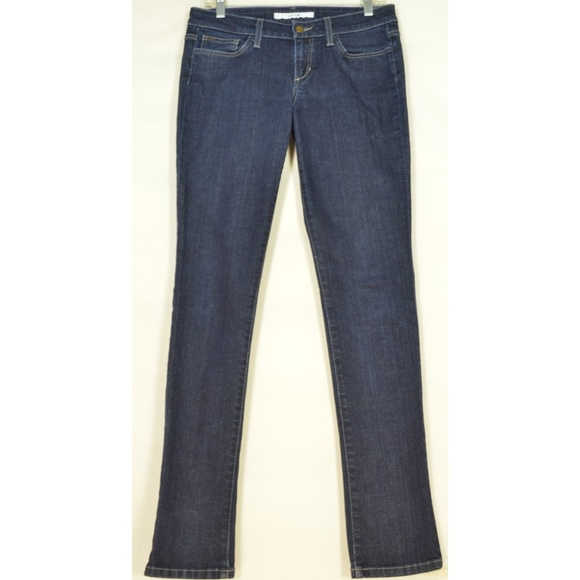 Joe's Jeans Denim - Joe's Jeans 28 x 33 Cigarette skinny dark wash lon